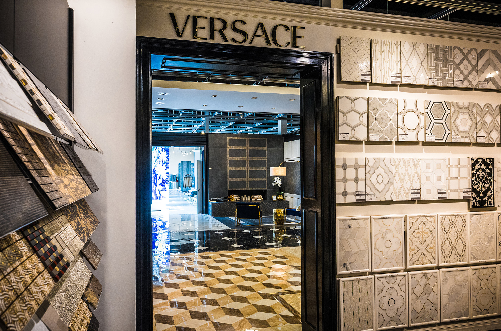 Versace Showroom