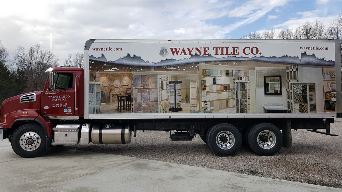 Wayne Tile Co Truck